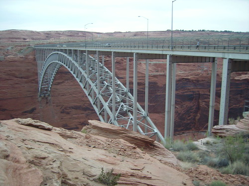 Bridge at Powell dam
