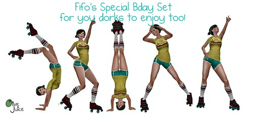 Fifo Bday Poses Poster