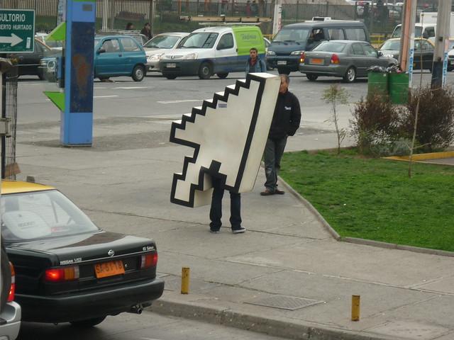 Cursor en la calle 1