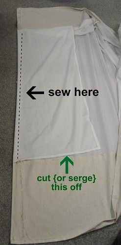 sew here cut there