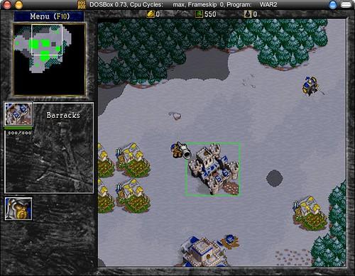 dosbox-warcraft2
