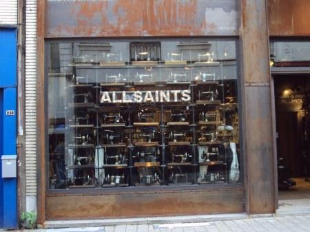 Vitrine All saints
