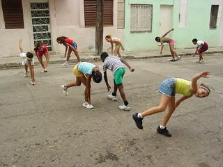 Morning Calisthenics - Centro Habana - Havana ...