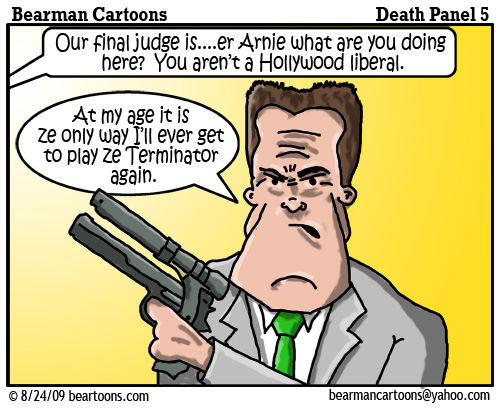 8 17 09 Bearman Cartoon DeathPanel5 copy