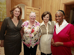 Breast cancer awareness reception