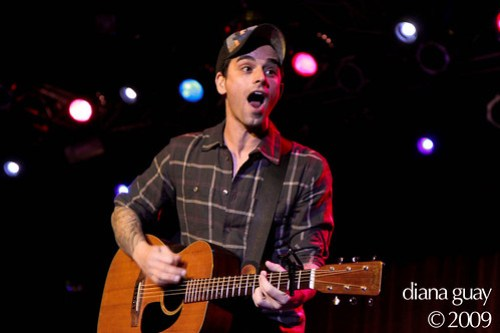 Chris Carrabba of Dashboard Confessional