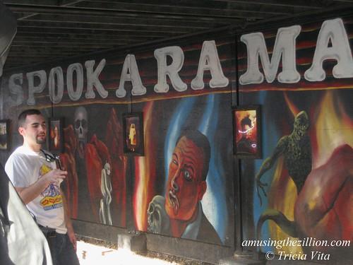 Spookarama, Classic Dark Ride at Deno's Wonder Wheel PArk, Coney Island. Photo © Tricia Vita/me-myself-i via flickr