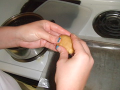 Making Macadamia Nut Cookies