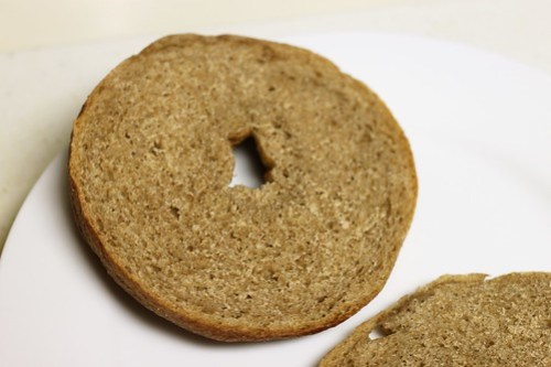 homemade whole wheat bagels