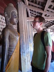 Audienz bei Buddha, Wat Sisaket, Vientiane