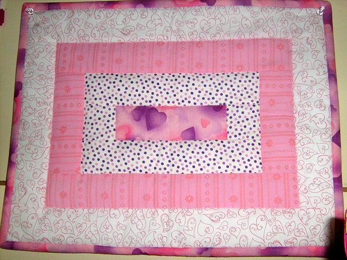 Pink Contest Placemat