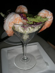 black tiger shrimp cocktail