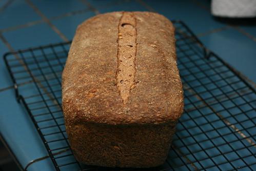 Purple Multigrain Baked Loaf