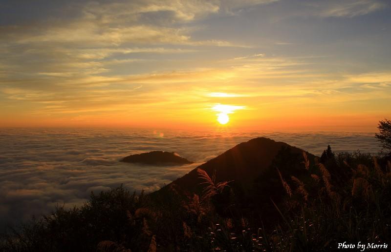 04A 阿里山日落雲海
