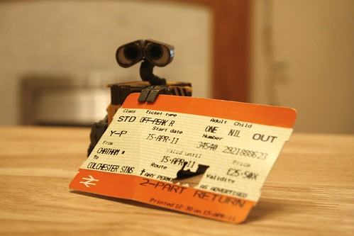 Day 297 - Train Ticket by ajwalters