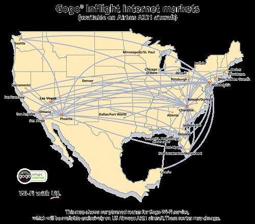 US Airways Wifi Flights