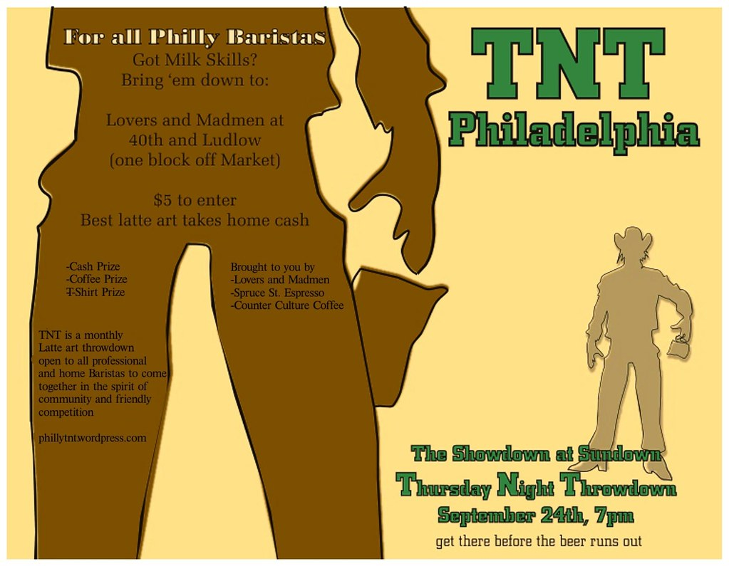 Come and join the first TNT Philadelphia