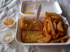Fish and Chips from The Frying Scotsman