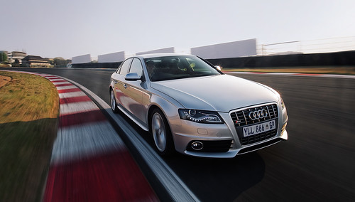 Audi S4 Front 34 On Track by ohirtenfelder.