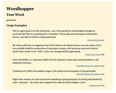 Wordhopper - ITPindia