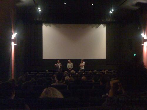dendy cinema: Dr Greg Clarke, Dr Peter Slezak, Hans Kristensen