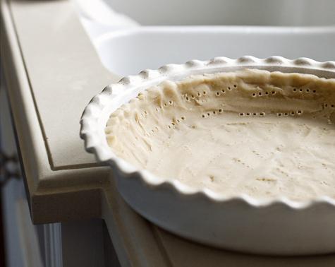 Chilled pie crust