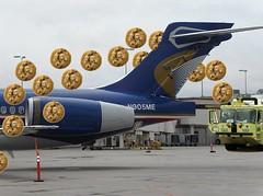 Midwest Retires the 717, Gets a Cookie Cannon Salute