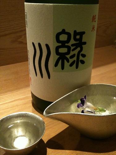 大阪京橋「喜や」越後は緑川の純米、900円