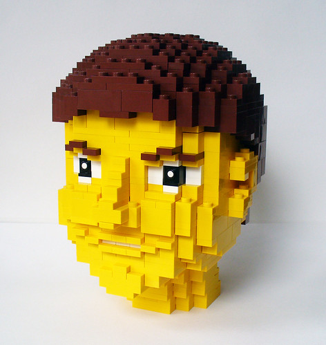 LEGO Girl Head 4