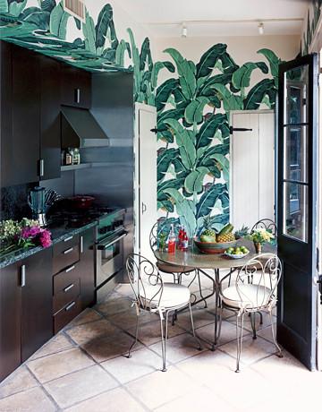 Beverly Hills wallpaper martinique kitchen
