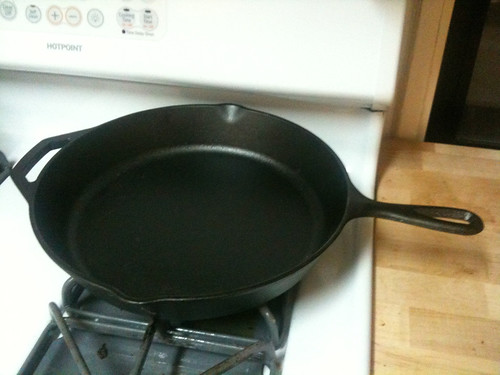 Just purchased my first iron skillet!