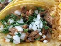 taqueria el rey del taco - bistek tacos