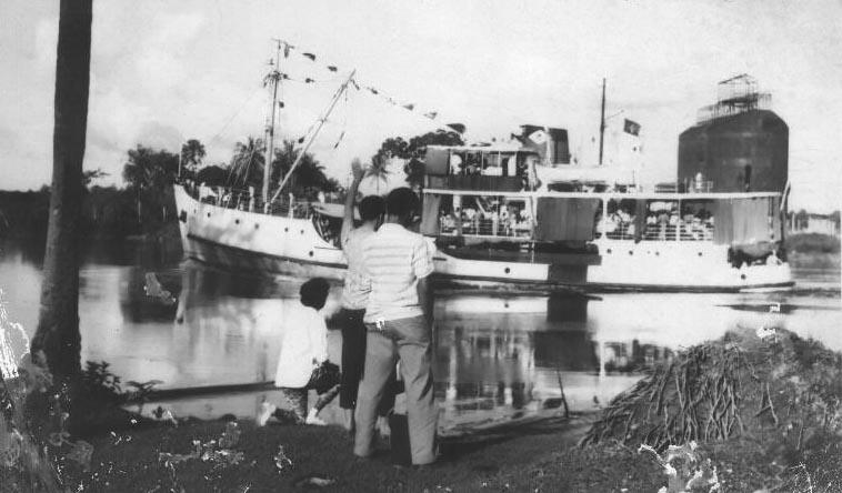R.H. Carr, Demerara River, Guyana