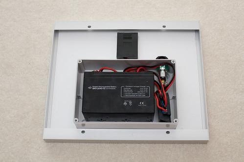 Solar battery - inside