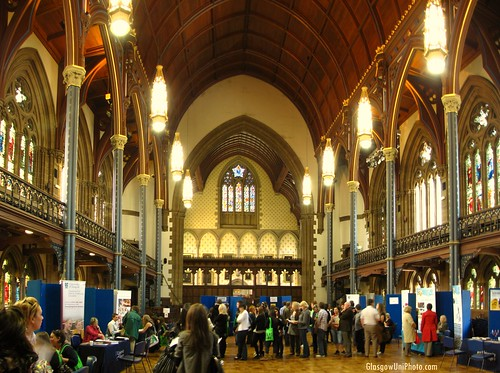 Bute Hall on Open Day