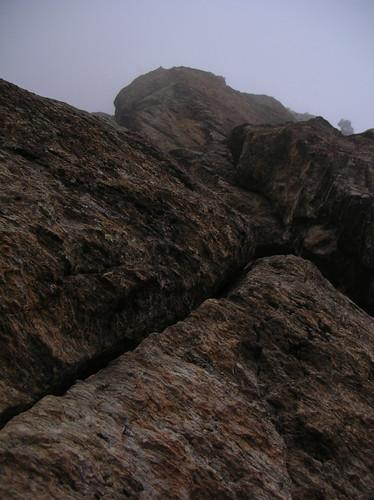 Via Rivero alla Rocca Sbarua