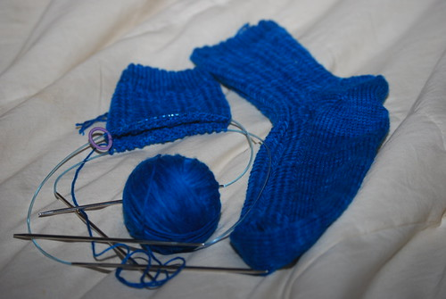 Mom's 1st pair of socks 3 by you.