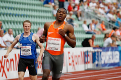 Leevan Yearwood på Bislett Games 2009