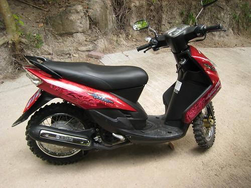 My off roading machine (Ko Tao)