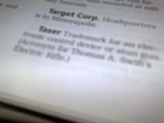 "AP Stylebook definition of ""Taser"""