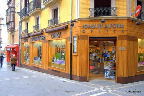 «Óptica Joaquín Alforja», en la Plaza Consistorial