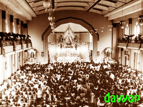 Our Lady of La Naval de Manila in UST Chapel by davyop.