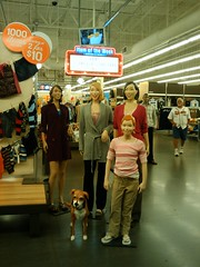 "Creepy Old Navy mannequins ""in person"""