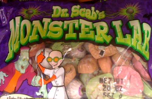 Dr Scab's candy