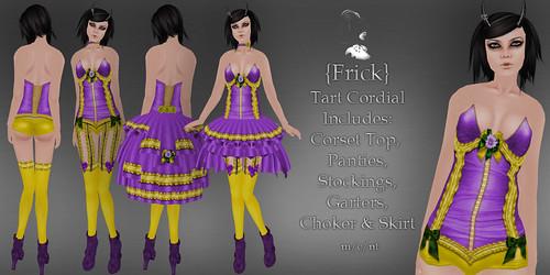 Frick - Tart Cordial - Ad
