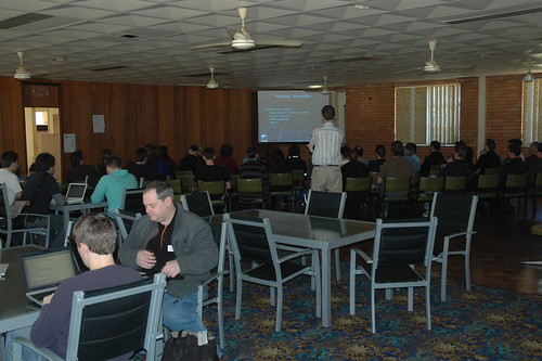 Discussion at Barcamp Brisbane III