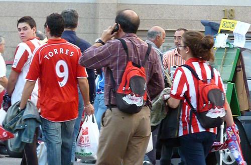 Atleti fan Torres 9 Liverpool jersey