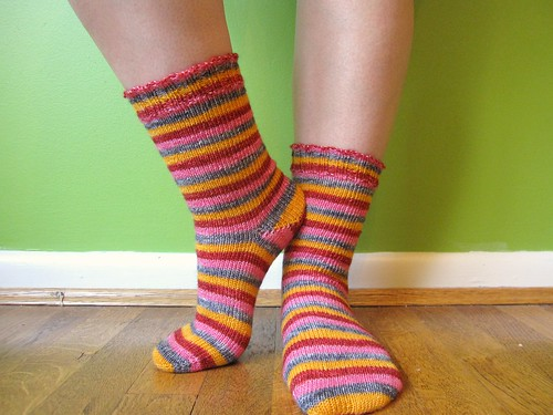Open Flame Socks
