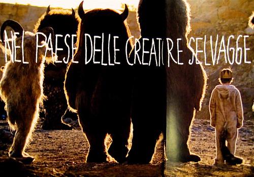 Nel paese delle creature selvagge. La storia con le immagini del film, Mondadori 2009. Frontespizio, (part.) 2