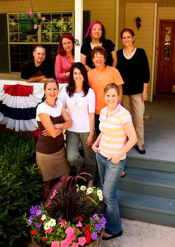 Paper Crafts Team, July 2009